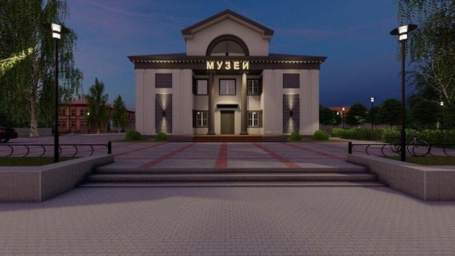 В Балтийске реконструируют здание первого кинотеатра, построенного 65 лет назад - Новости Калининграда | Эскиз с сайта администрации Балтийского городского округа