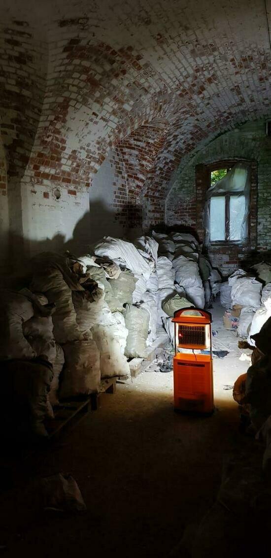 В форту № 1 обнаружили 300 мешков с костями - Новости Калининграда | Фото: пресс-служба регионального Следственного комитета