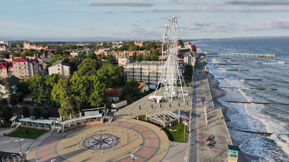 В Зеленоградске показали проект колеса обозрения (эскиз) - Новости Калининграда | Фото: пресс-служба регионального правительства