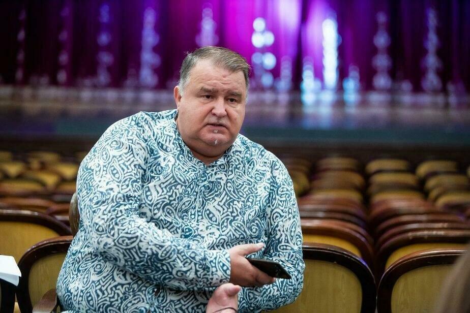 На фото: худрук областного драматического театра Михаил Андреев  | Фото: Александр Подгорчук