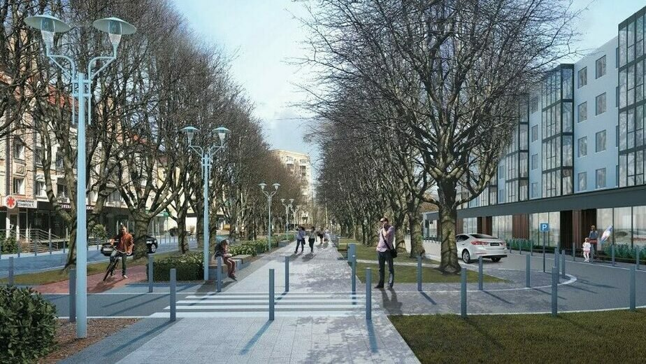 В Калининграде объявили торги на ремонт пешеходной зоны на Соммера - Новости Калининграда | Фото: пресс-служба администрации Калининграда
