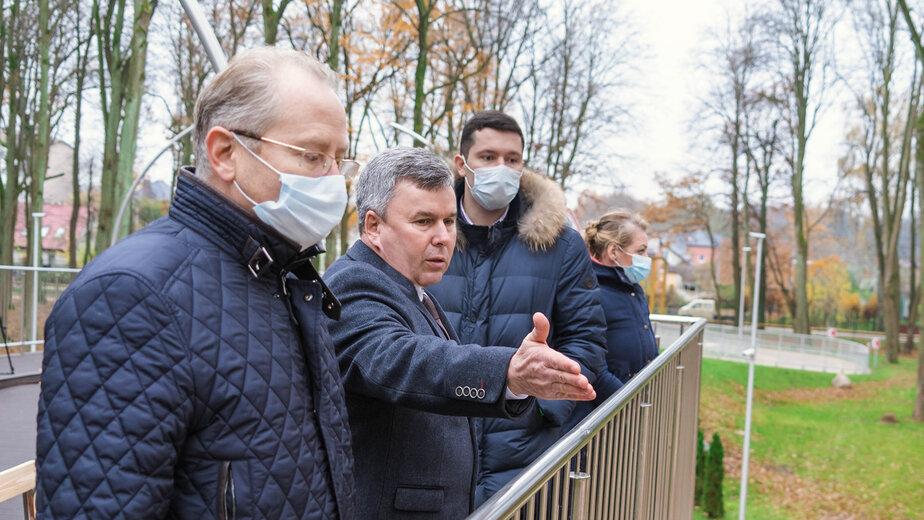 В парке Гурьевска открыли смотровую площадку - Новости Калининграда | Фото: Олег Лактионов