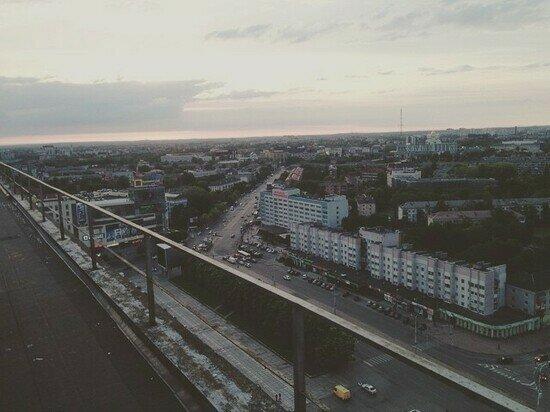 Калининград с высоты птичьего полёта в мае 2015 года | Фото: Владислав Берг