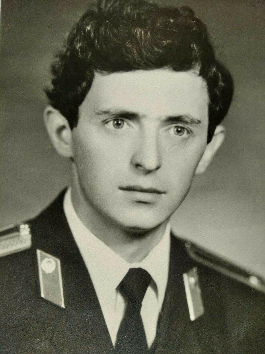 Геннадий Мялик. Начало службы | Фото: личный архив
