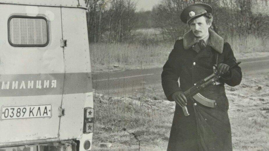 При исполнении. Капитан Геннадий Мялик | Фото: личный архив