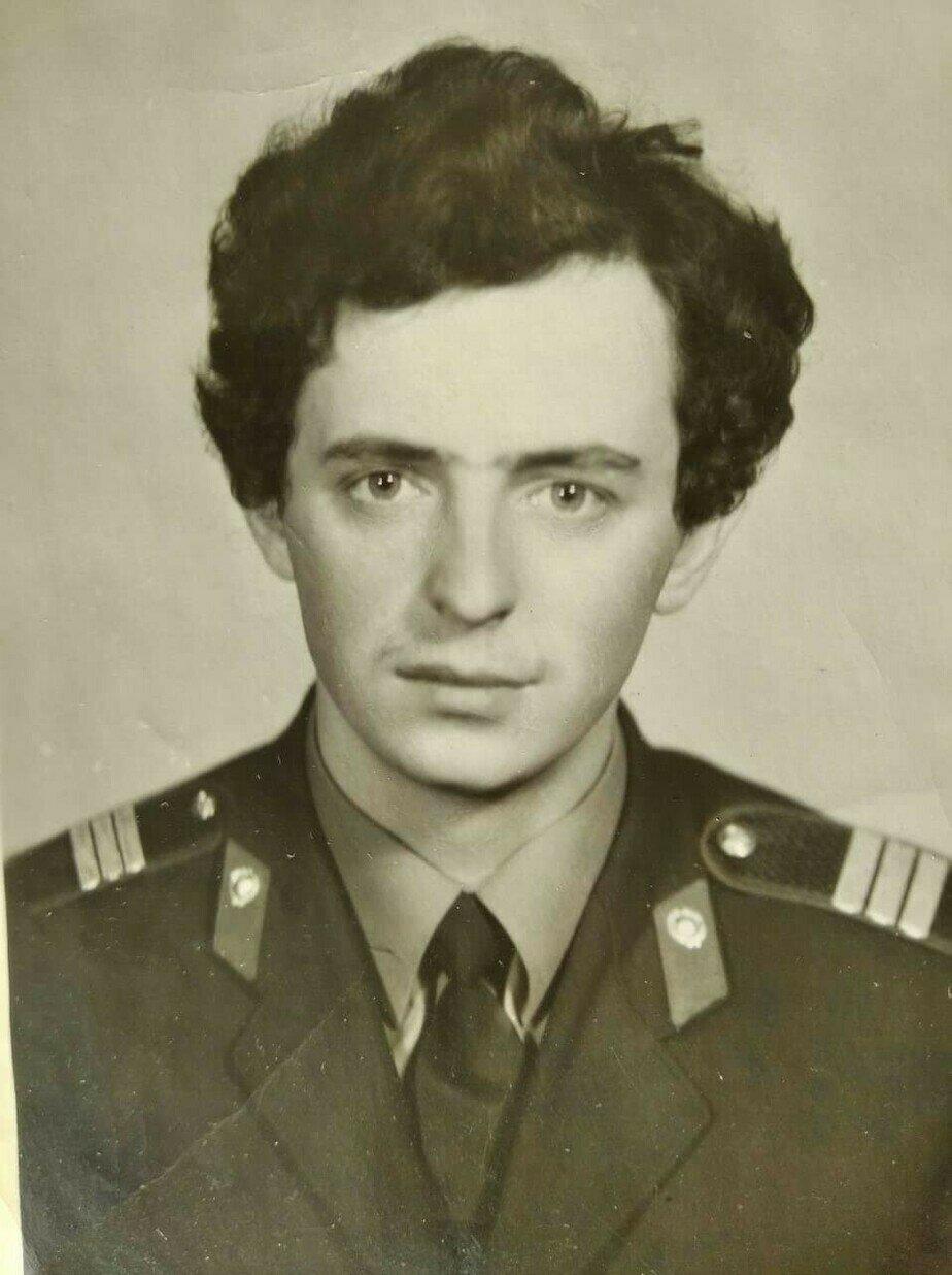 Сержант милиции Геннадий Мялик. 1970-е годы | Фото: личный архив