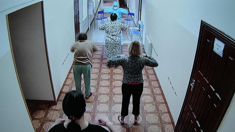 В Калининградской области пациентов с COVID-19 обучают дыхательной гимнастике - Новости Калининграда | Фото: пресс-служба правительства Калининградской области