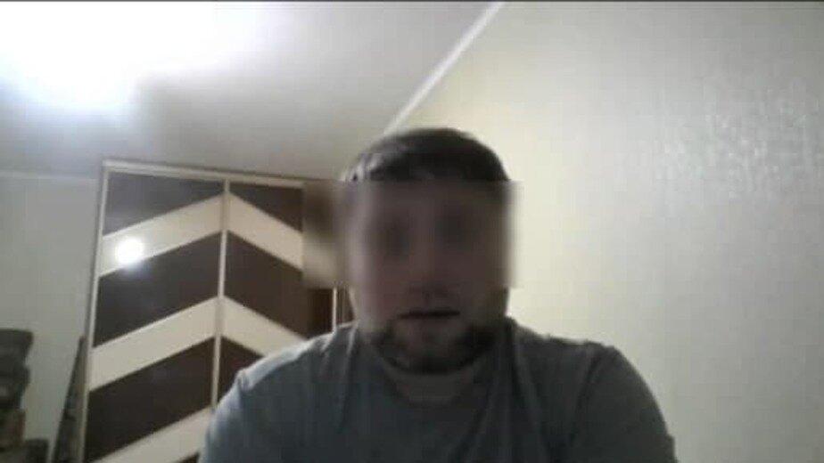 Кадр из видеообращения на канале Александра М. на YouTube