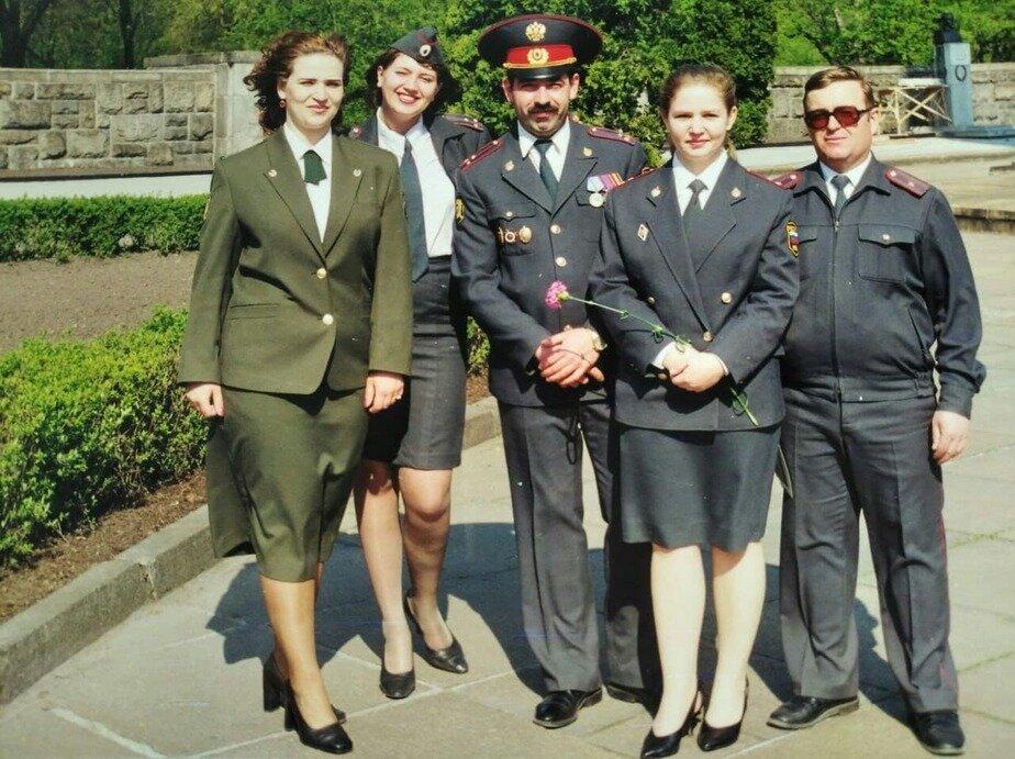 Группа сотрудников калининградской милиции | Фото: личный архив