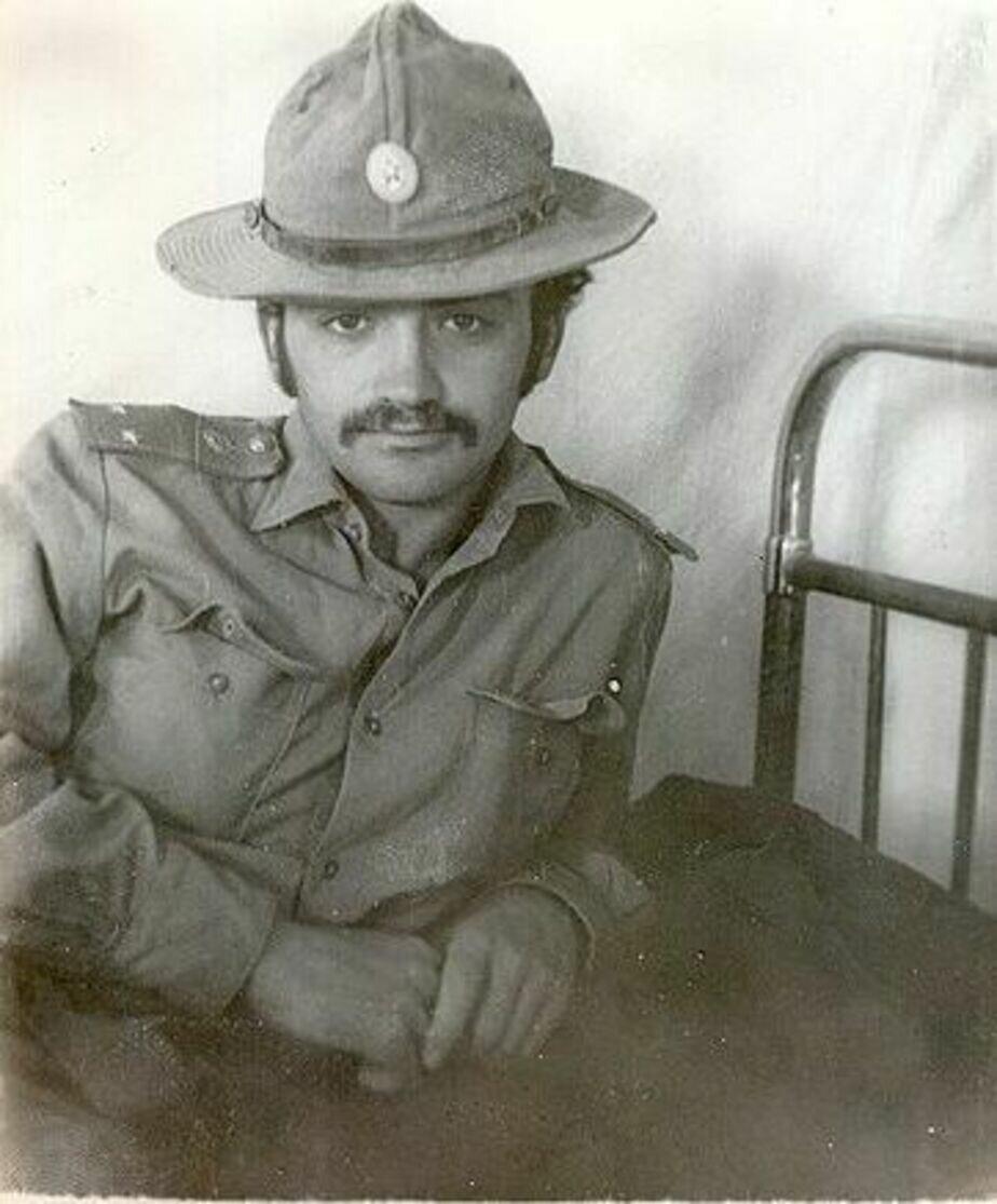 Лейтенант Леонид Бронфен. 1979 год, Афганистан | Фото: личный архив