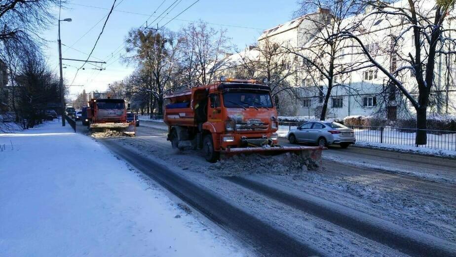 Дятлова рассказала об уборке снега в Калининграде - Новости Калининграда   Фото: Елена Дятлова / Facebook