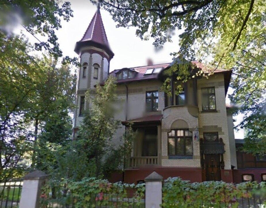 В Калининграде на аукцион выставили историческую виллу в районе Амалиенау - Новости Калининграда | Скриншот Google Maps