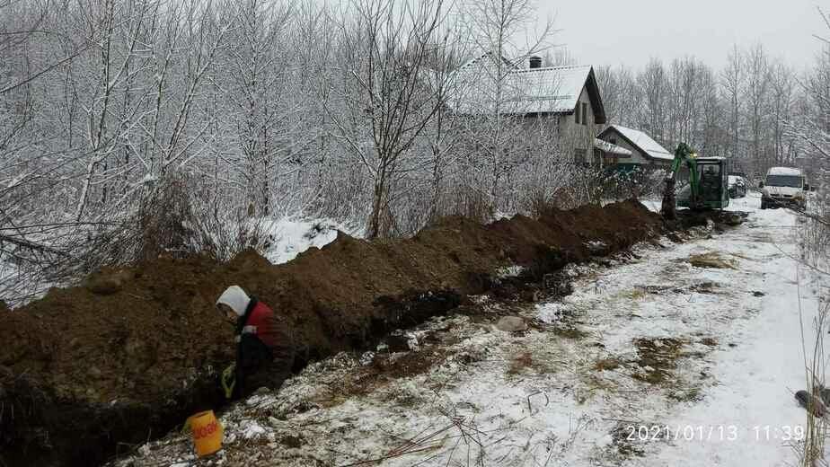 В посёлке Заозёрье начались строительные работы по газификации - Новости Калининграда