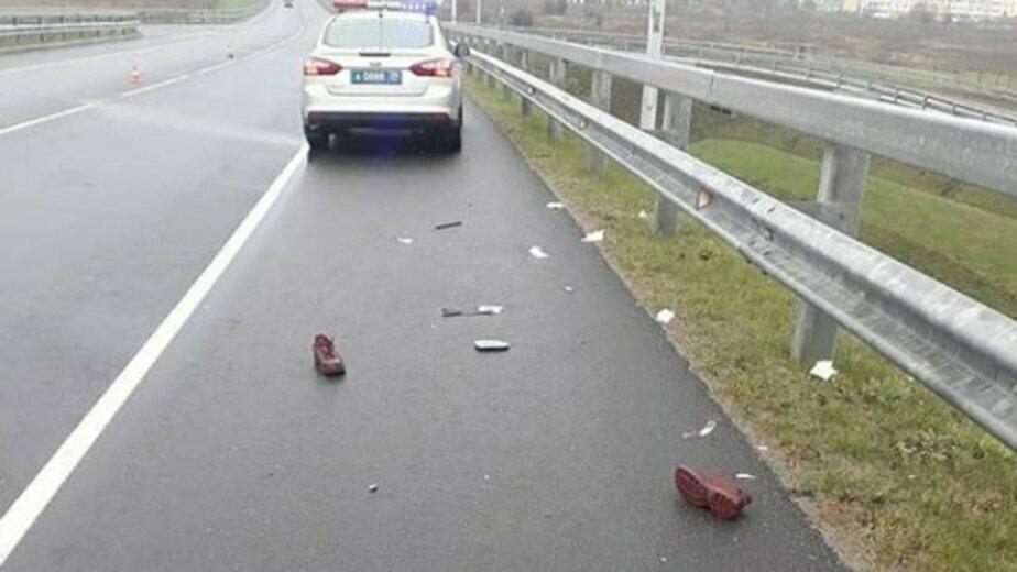 На фото: место аварии | Фото: пресс-служба УМВД по Калининградской области