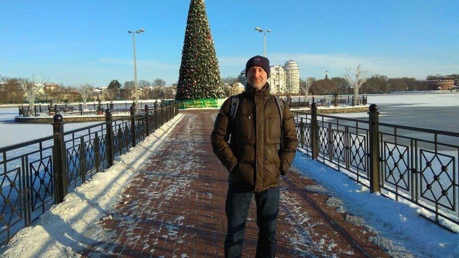 Тот самый спаситель Сергей, который вытащил ребёнка из ледяной воды   Фото из семейного архива