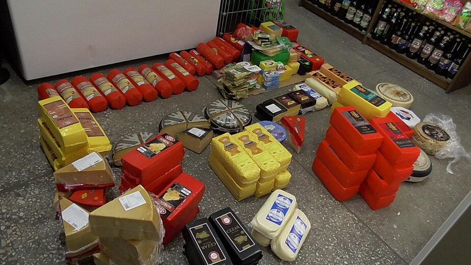В магазине на Алданской в Калининграде изъяли более 300 кг санкционки   - Новости Калининграда   Фото: пресс-служба таможни Калининградской области