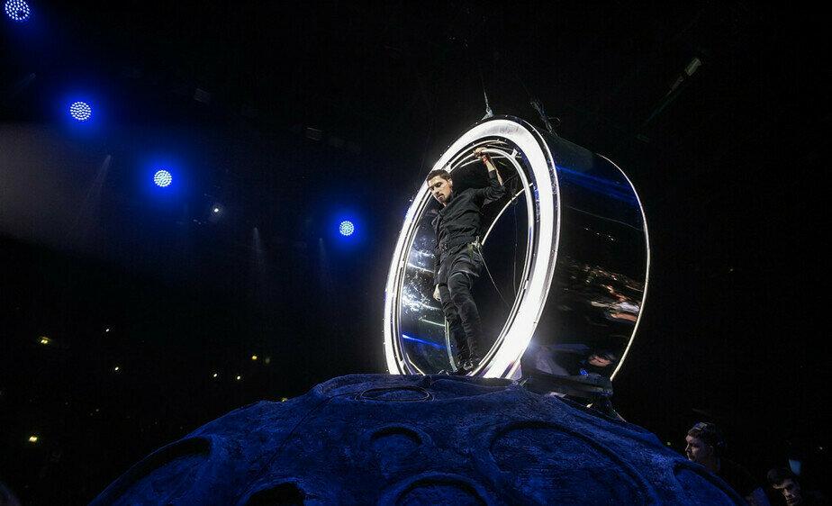 Элемент концертного шоу  | Фото: Планета Билан