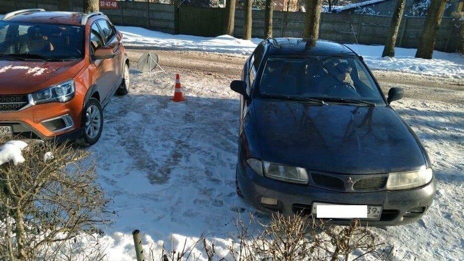 В Калининграде пешехода сбили из-за ссоры на парковке - Новости Калининграда | Фото: пресс-служба УМВД России по Калининградской области