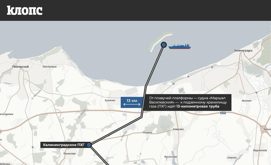 Три вопроса про плавучую платформу и морской терминал по приёму газа в Калининградской области (инфографика) - Новости Калининграда