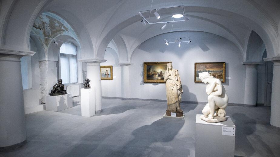 """Часть экспозиции в Музее изобразительных искусств   Фото: Архив """"Клопс"""""""