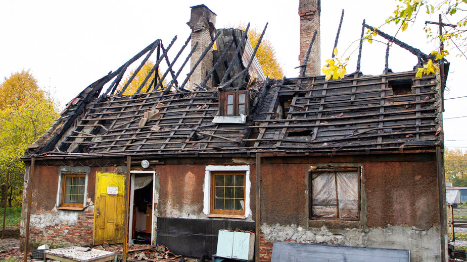"Место трагедии | Фото: Александр Подгорчук / ""Клопс"""