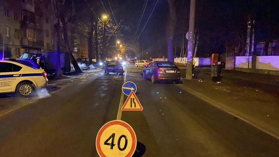 В Калининграде пьяный водитель Ford выехал на встречку и столкнулся с Hundai, пострадала женщина - Новости Калининграда   Фото: пресс-служба УМВД по Калининградской области