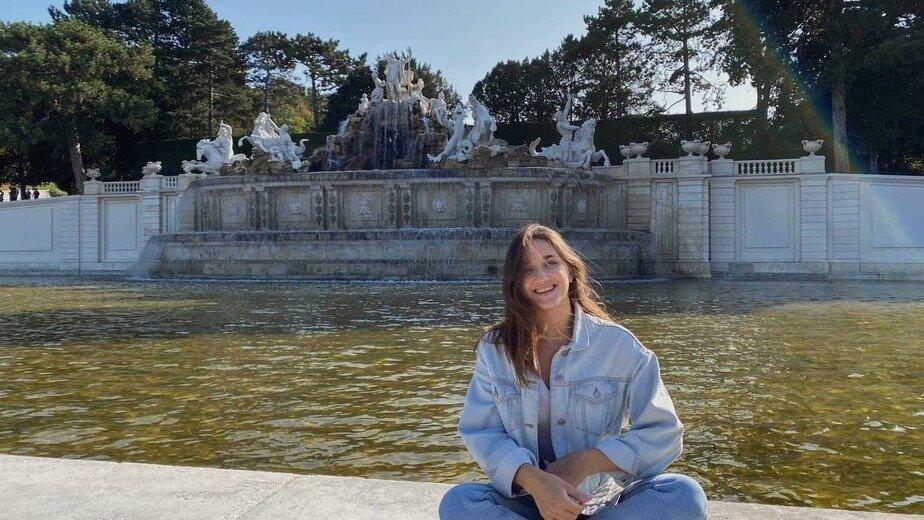 Марина часто ездит прогуляться по австрийской Вене   Фото: личный архив
