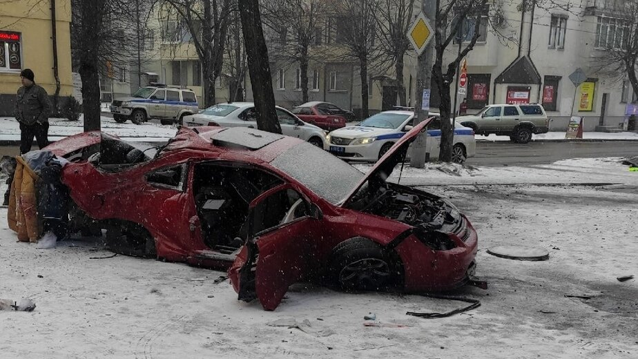 В ДТП на Батальной погиб водитель Chevrolet - Новости Калининграда | Александр Чайко