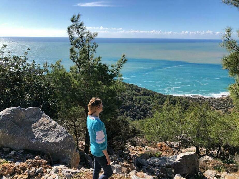 Побережье Средиземного моря в провинции Мерсин   Фото: личный архив