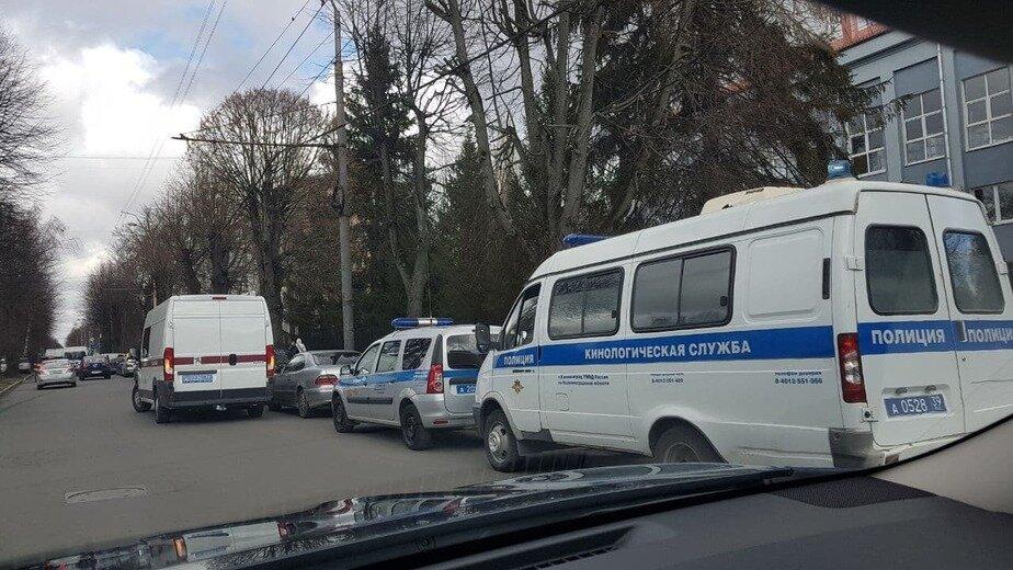 Центральный районный суд Калининграда на ул. Леонова, 24 | Фото очевидца