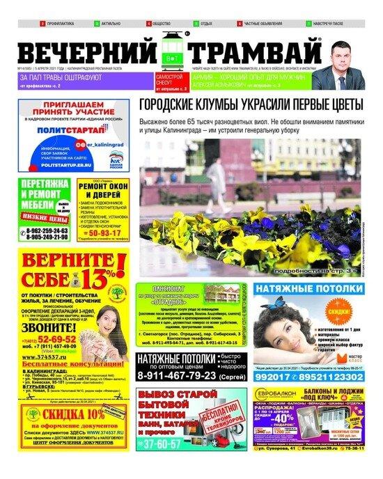 """Какие штрафы за пал травы: читайте в газете """"Вечерний трамвай"""" - Новости Калининграда"""