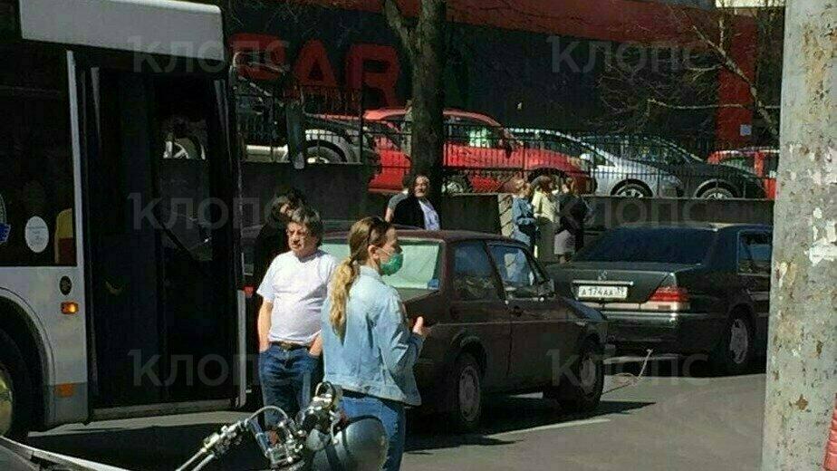 На месте взрыва дома на Леонова произошло ДТП (фото) - Новости Калининграда | Фото очевидца