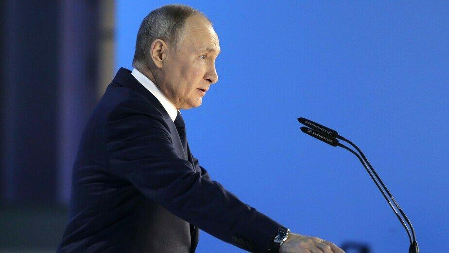 Что поручил Путин: главные заявления президента в послании Федеральному собранию  - Новости Калининграда   Фото: пресс-служба Кремля