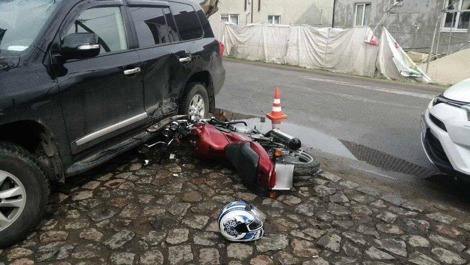 Место аварии   Фото очевидца
