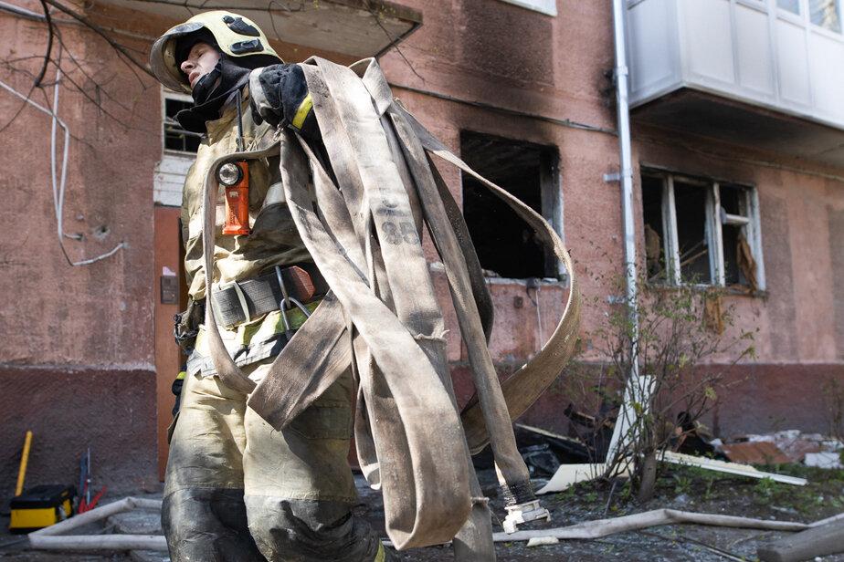 «Не спали из-за тревоги»: жители рассказали, как прошла ночь в доме на Леонова, где взорвался газ - Новости Калининграда | Архив «Клопс»