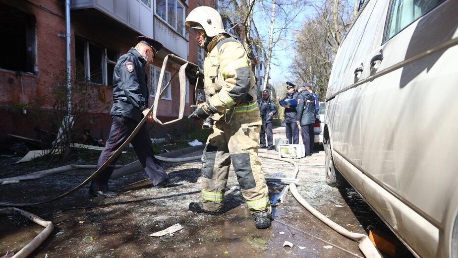 Первые минуты после локализации пожара | Фото: Александр Подгорчук /«Клопс»