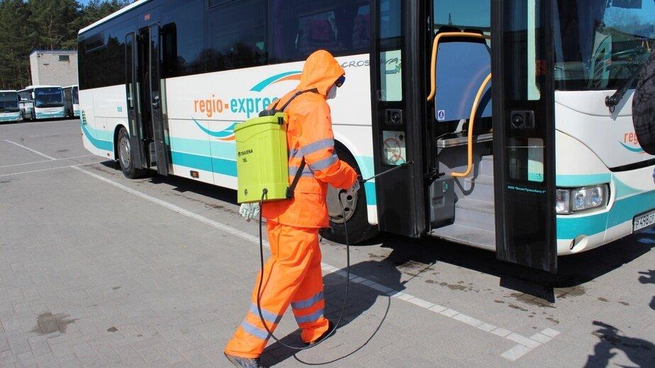 Областные власти рассказали, как часто проверяют качество дезинфекции автобусов - Новости Калининграда | Фото: пресс-служба правительства Калининградской области