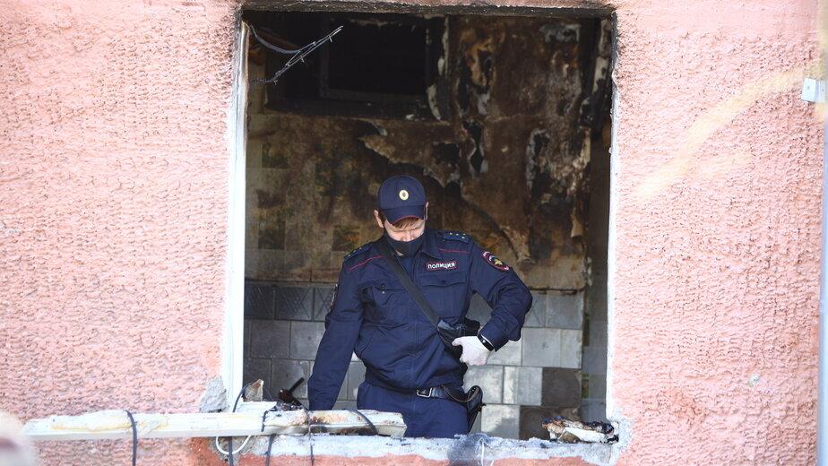 Место происшествия сразу после взрыва | Фото: Александр Подгорчук /«Клопс»