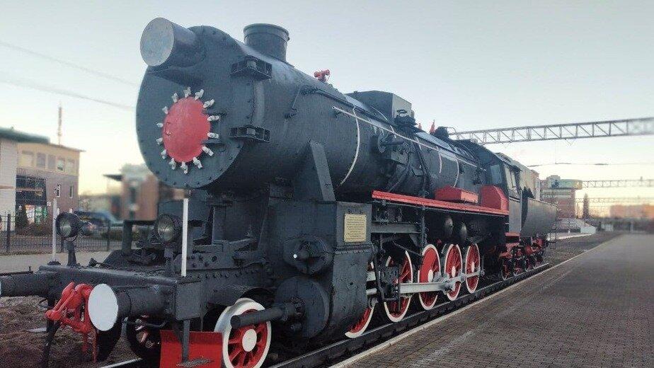 На фото: паровоз ТЭ № 858 на Северном вокзале | Фото: «Клопс»