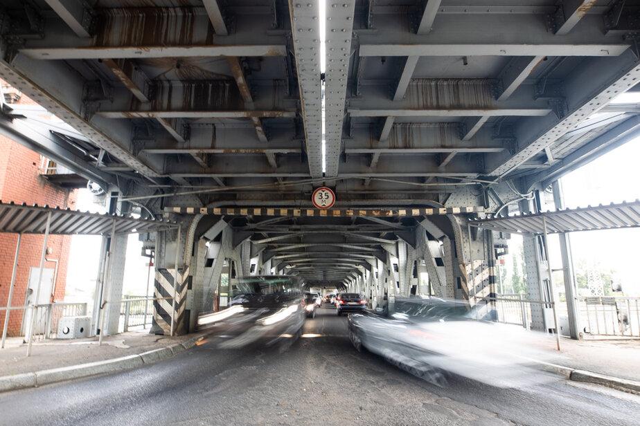 Работы в три этапа: как будут строить шестиполосный дублёр двухъярусного моста в Калининграде - Новости Калининграда   Фото: архив «Клопс»