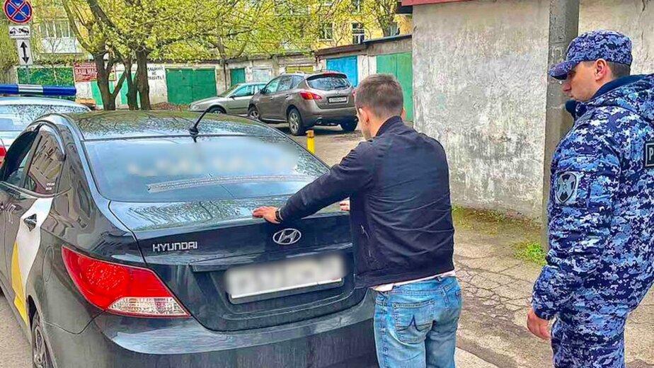 В Калининграде поймали не расплатившегося на АЗС водителя