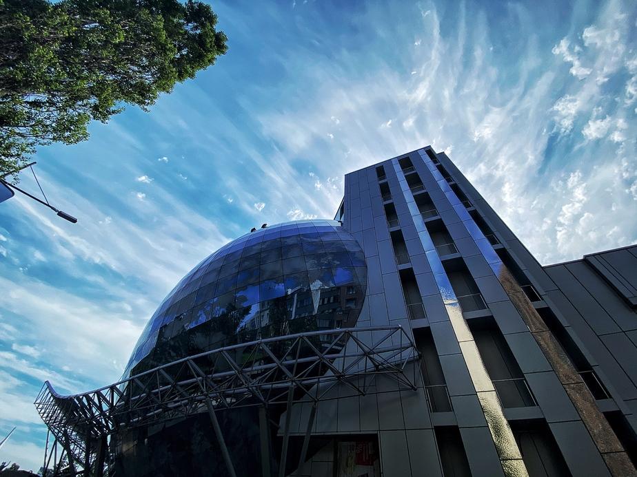 Фото дня: необычное явление в небе над ММО - Новости Калининграда | Фото: Александр Подгорчук / «Клопс»
