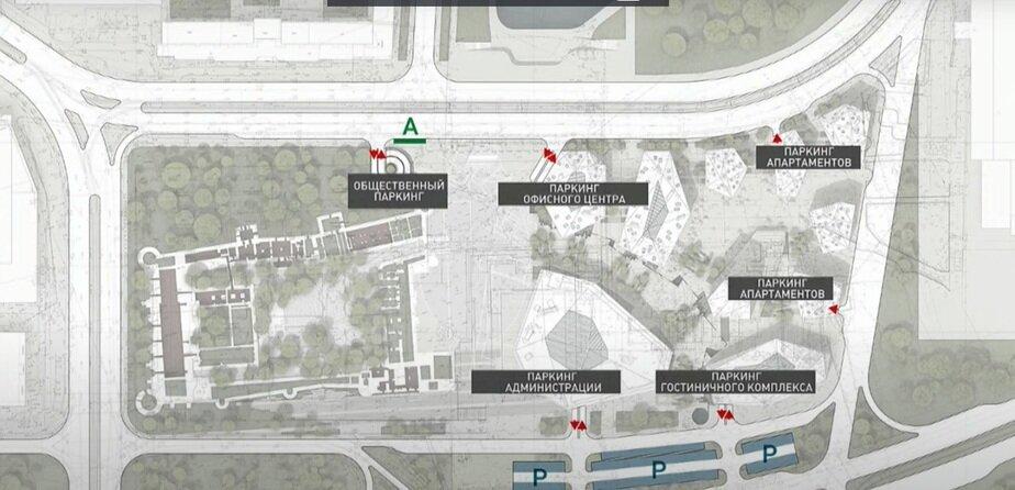 Уйдёт под землю: что будет с самой большой парковкой в центре Калининграда у Дома Советов (схема) - Новости Калининграда | Эскизы — «Студии 44»