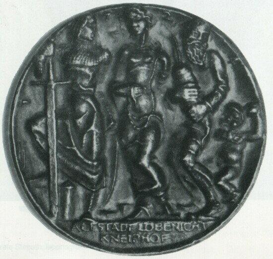 Рыцарь — Альтштадт, барышня — Кнайпхоф, старик — Лёбенихт, мальчуган — Закхайм
