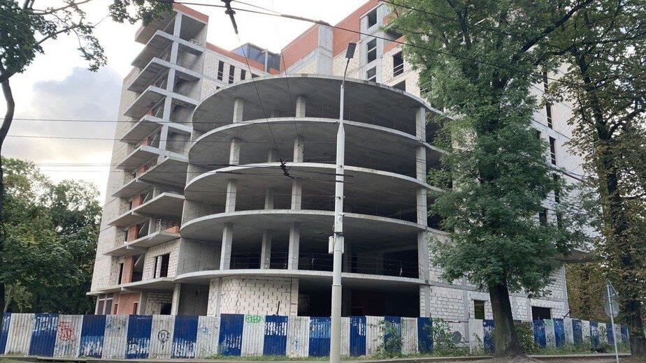 Алиханов: Гостиницу у Центрального рынка в Калининграде планируют достроить к следующему сезону - Новости Калининграда   Фото: «Клопс»