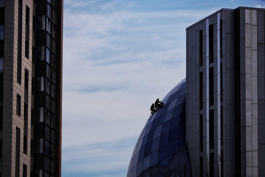 Фото дня: архитектурные линии Калининграда  - Новости Калининграда | Фото: Александр Подгорчук / «Клопс»