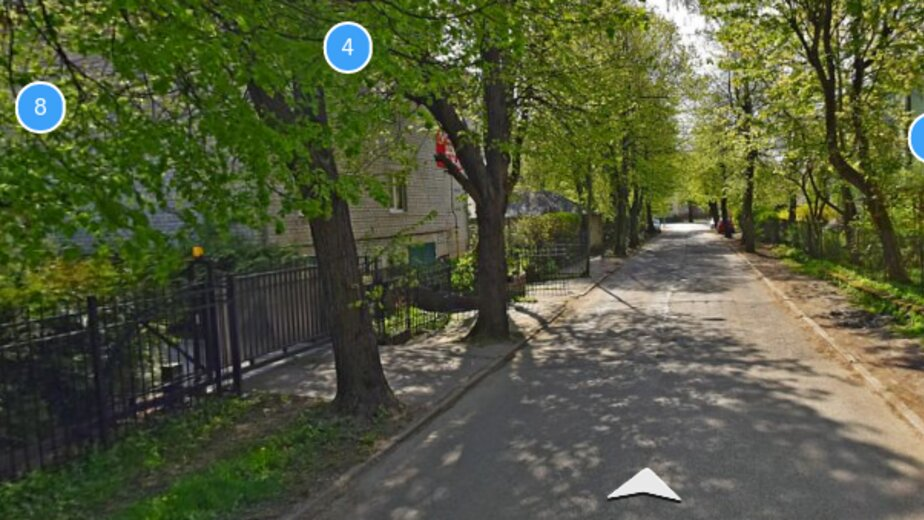 Улица Расковой | Скриншот сервиса Яндекс.Карты