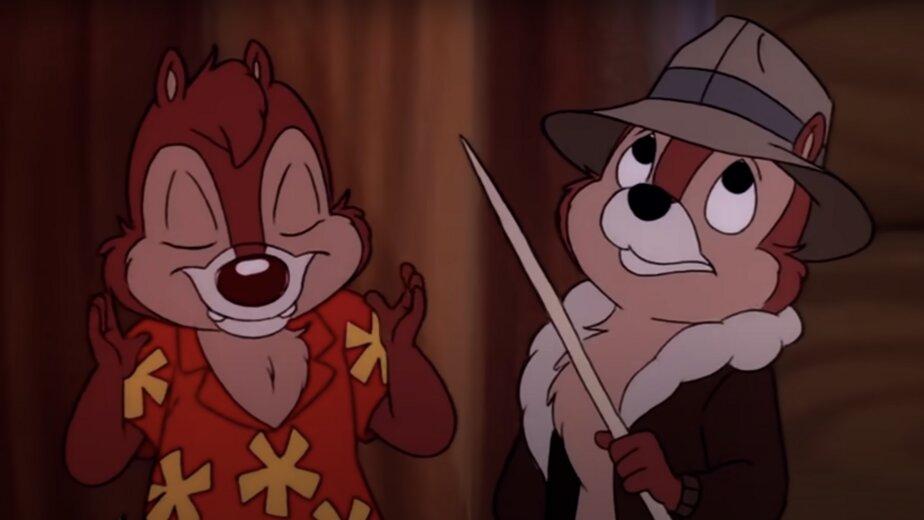 Disney выпустит сериал о приключениях бурундуков Чипа и Дейла, живущих в парке - Новости Калининграда | Изображение: кадр из сериала «Чип и Дейл спешат на помощь» (0+)