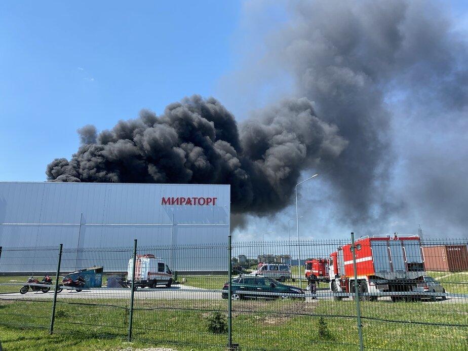 Второй пожар за 11 лет: четыре вопроса о ЧП на «Мираторге» - Новости Калининграда