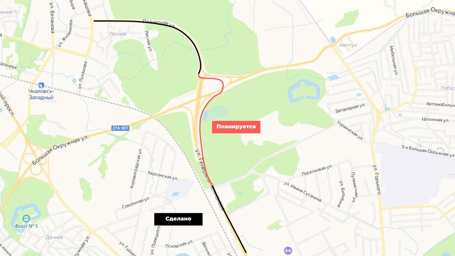 Власти придумали, как соединить велопешеходную дорожку с Сельмы в Чкаловск (схема) - Новости Калининграда